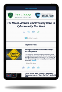 Law Offices of Brian C Focht Cybersecurity Law Cyber Security Law Resilience Cybersecurity Newsletter
